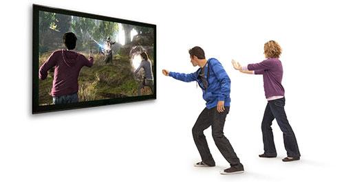 jugar a Kinect implica movimiento
