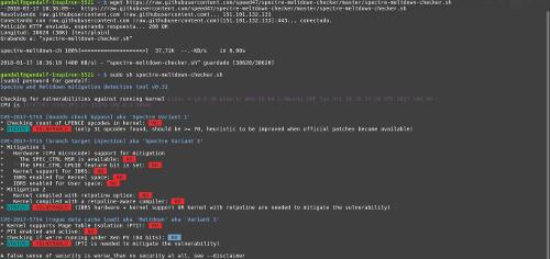 script linux procesadores