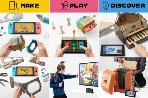 Nintendo Labo será el éxito del año