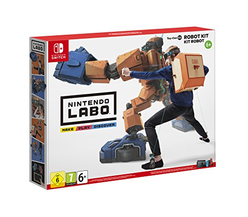 Switch Nintendo Labo - Kit de robot (Toy-Con 02)