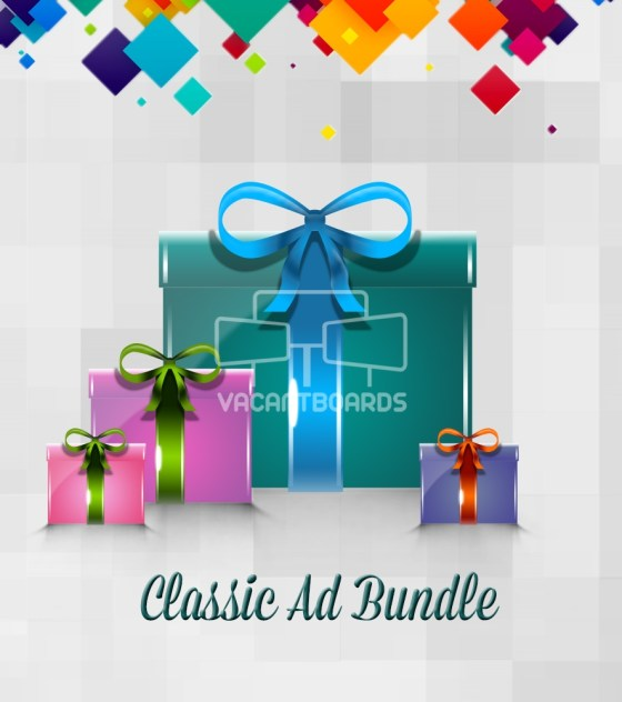 VacantBoards Classic Outdoor Advertising Bundle