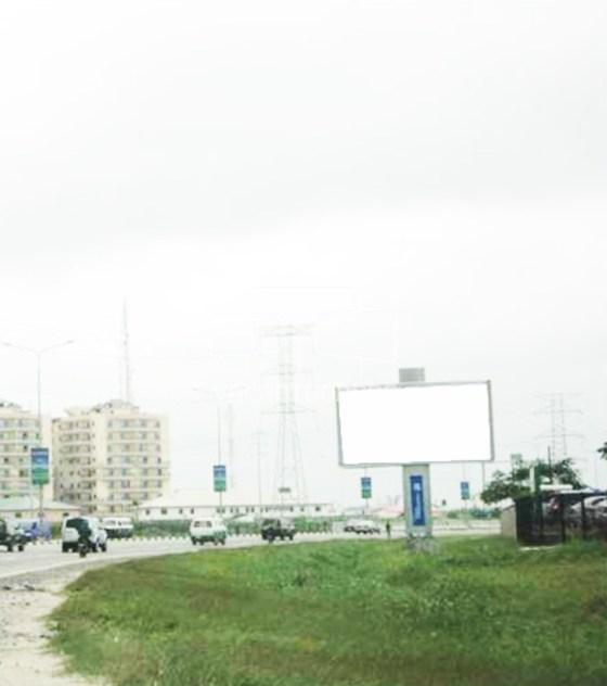 backlit Billboard,Lekki