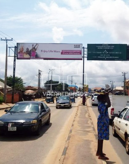 Gantry Billboard – Nnebisi Road Asaba, Delta