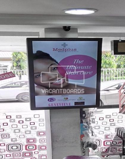 Digital Screen - MedPlus Pharmacy -1004 Housing Estate, Victoria Island Lagos