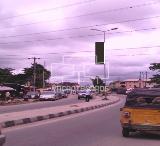 Lamp Post – Ado Road Badore, Ajah, Lagos