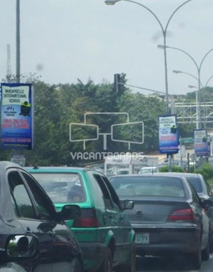 Lamp Post - Ahmadu Bello Way, Abuja