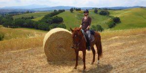 montalcino a cavallo