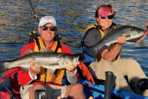 Charlie & Tim, Stripers!