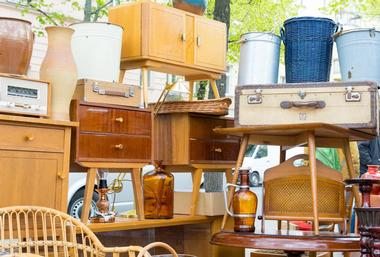 The Woodbury Flea Market