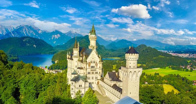 Bavarian Palaces And Castles