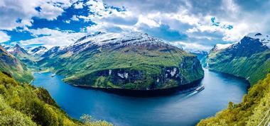 Die schönsten Plätze der Welt: Geiranger Fjord, Norwegen