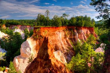 25 Best Places to Visit in Georgia  USA Providence Canyon State Park