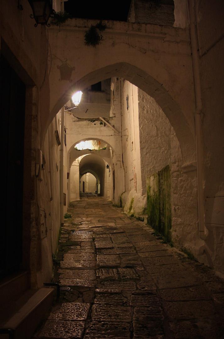 Ostuni Puglia archway medieval town