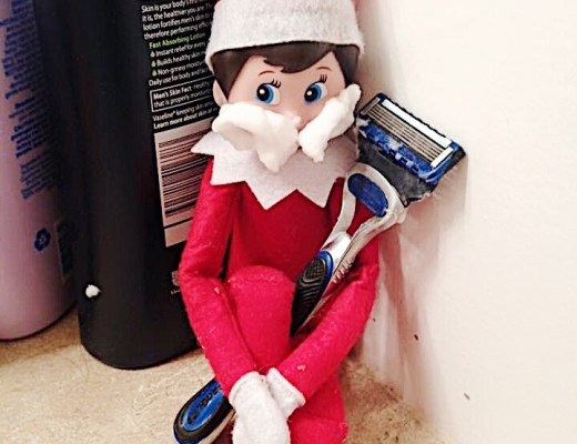 Elf on a shelf Maine Blogger