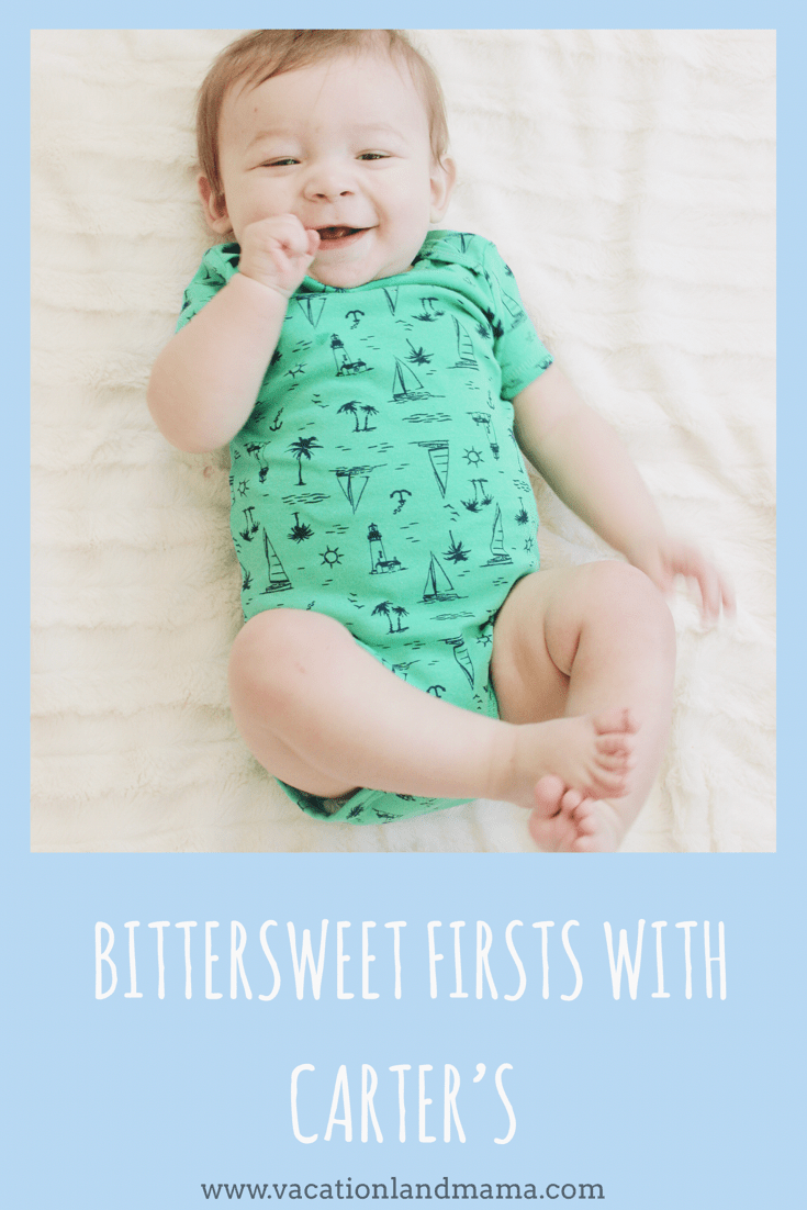 Bittersweet Firsts with Carter's