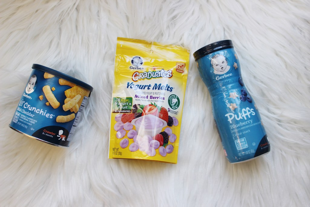 Snacking smart with Gerber