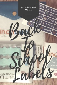 Back to school labels inch bug