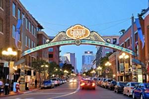 Downtown San Diego Gaslamp Quarter