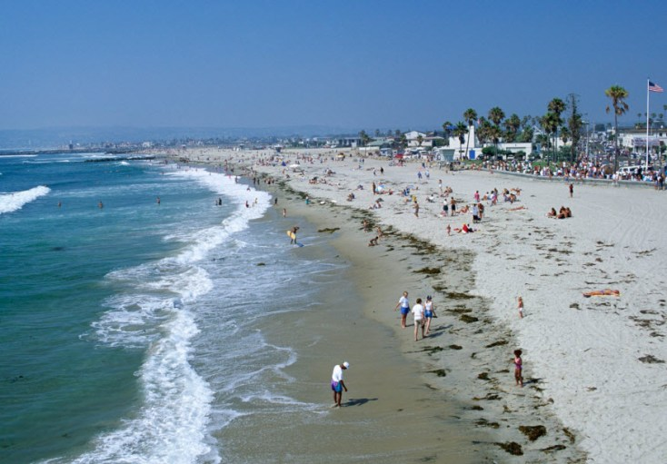 Ocean Beach In San Diego