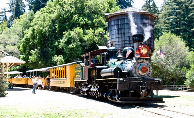 train in san francisco - Roaring Camp Railroads