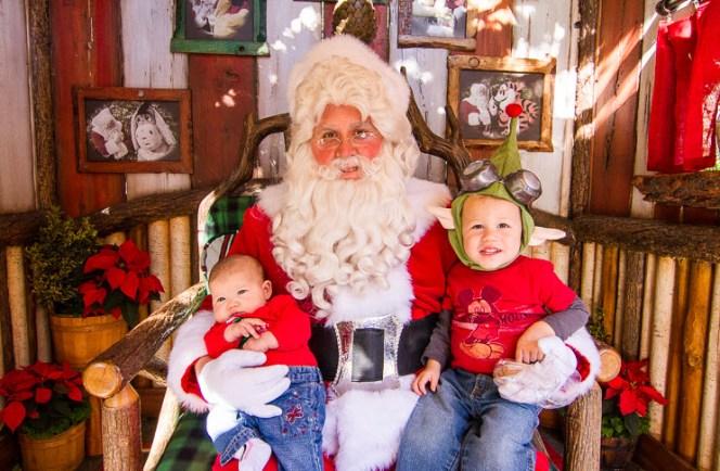 Santa at Christmas Day Disneyland