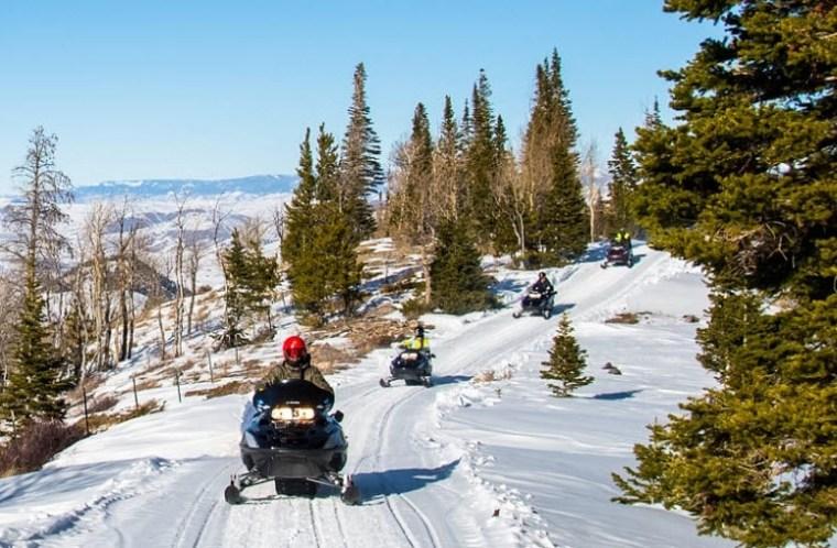 Snowmobiling in Colorado Breckenridge