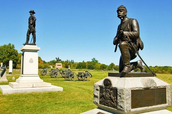 Attractions inGettysburg National Military Park pennsylvania