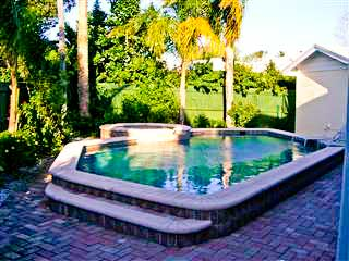 Clearwater Beach Florida Vacation Home Hot Tub