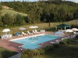 Pool at Arezzo Holiday Flats in Tuscany Italy