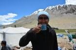 Yak's milk tea
