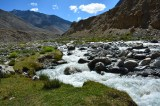 Colors of Ladakh.... Indus river gushing ahead with full energy...