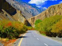 Karakoram Highway ; Pic credit: Terence Saf