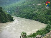 Tattapani - Naldhera Road...River Sutluj along the way!