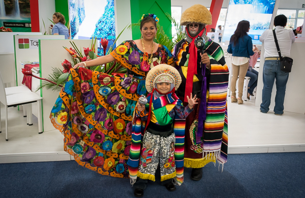 Tradional Dress at Tianguis Turistico