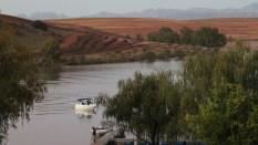 Misverstand Dam ~ view from chalet ~ April 2013