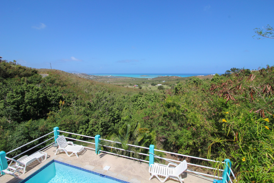 Rhapsody in Blue St Croix Villa View