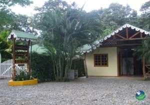Ciudad Perdida Ecolodge Entrance