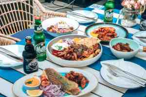 how to order food in greece