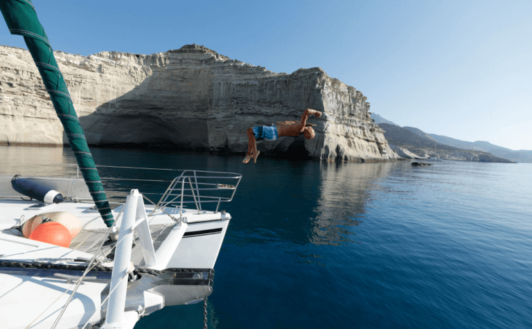 Explore Greece on a Skippered Catamaran