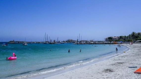 platja d'es port