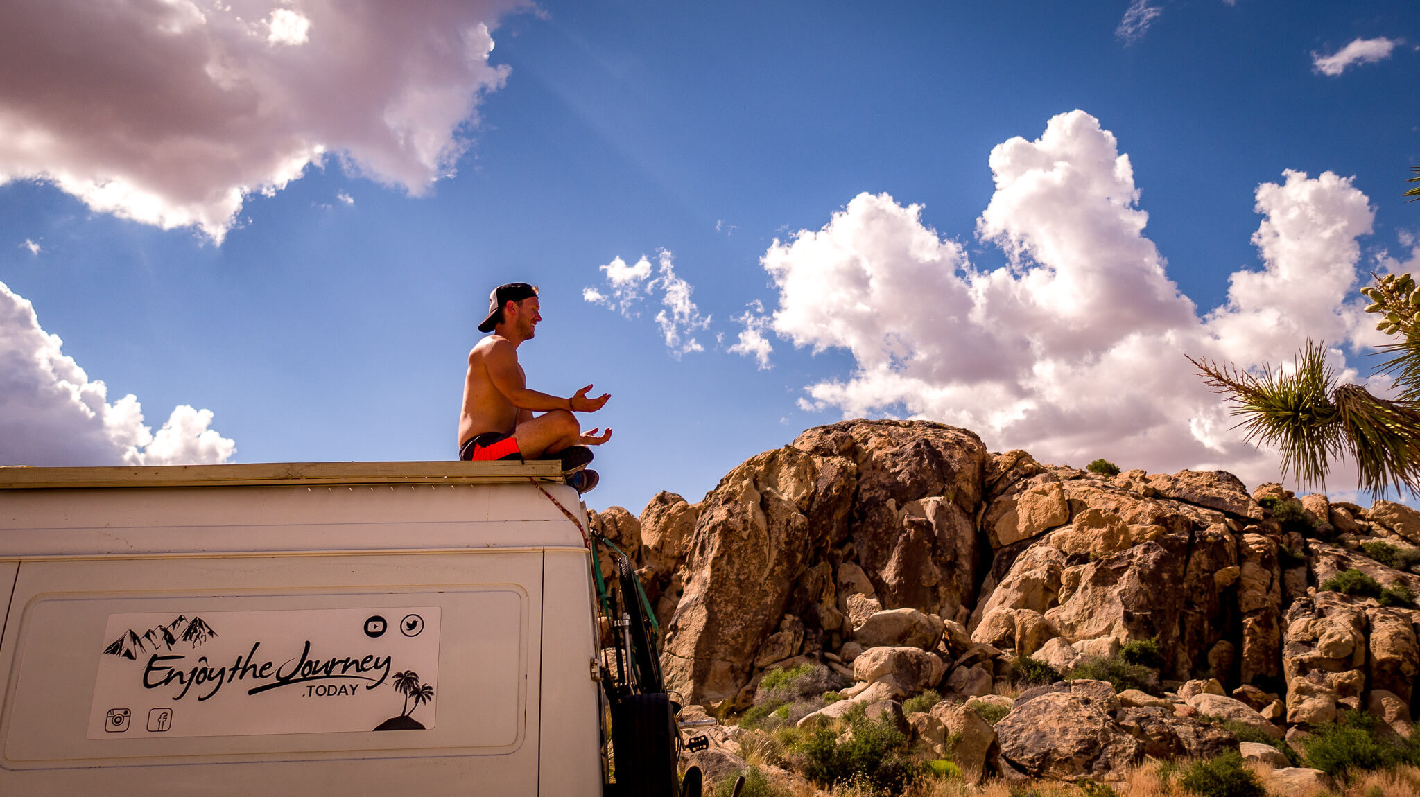 camper van meditation solo vanlife when couples break up on Instagram blog