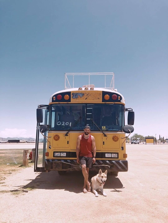 Ultimate skoolie school bus renovation off-grid solar van life living
