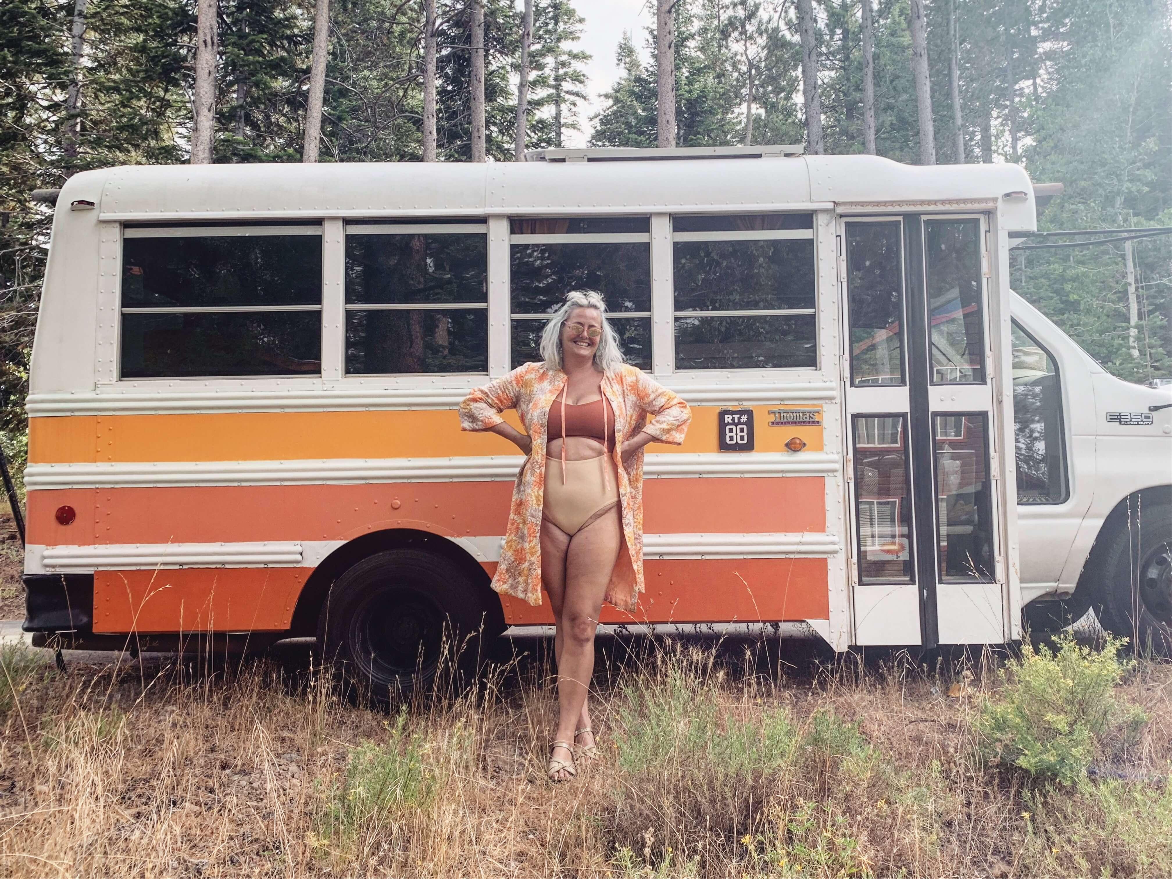 short bus conversion cute design inspiration vanlife