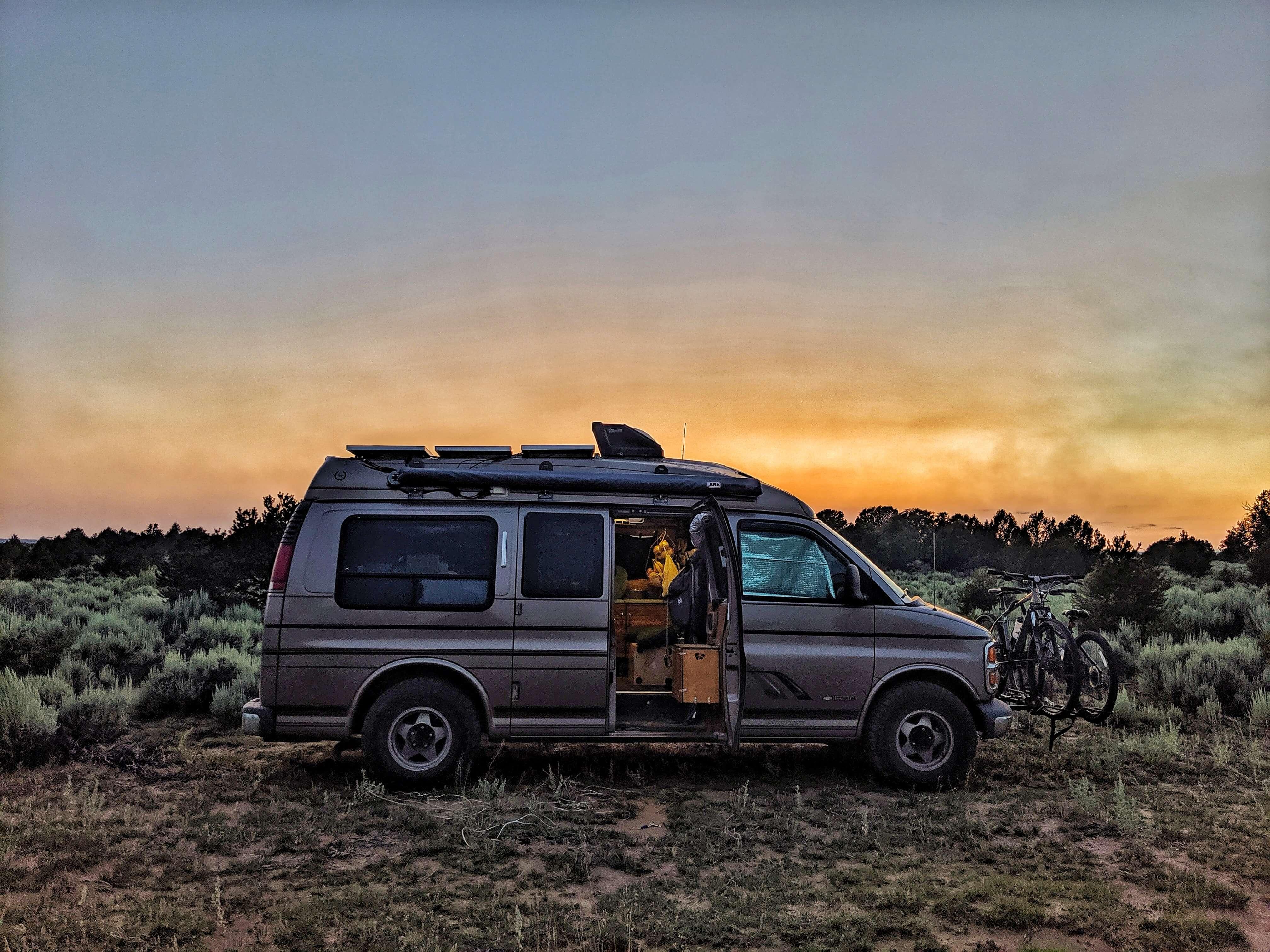 gnomad home conversion camper van photos diy van build guide blog instagram exterior