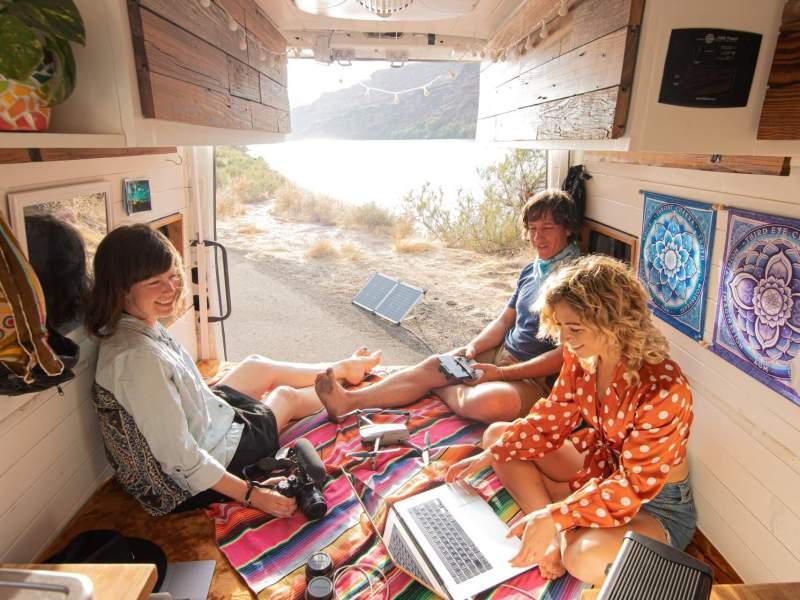 Go! Power Solar kit Real Life Vanlife Show Moab, Utah