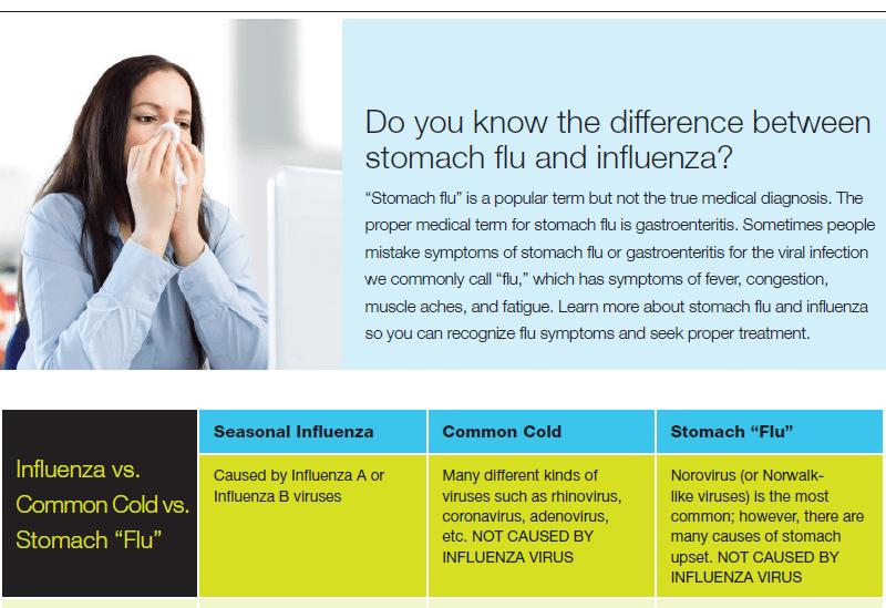 Flu Information Flyer thumbnail