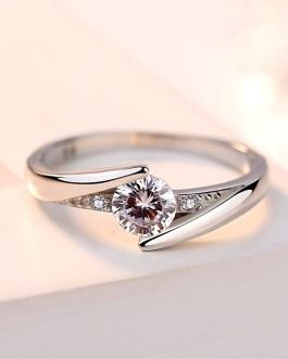 Noble diamond ring