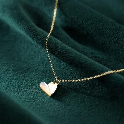 heart women necklace