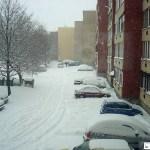 Deákvár havas utcákkal - az Időkép felvétele