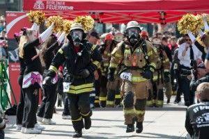 Berliner Firefighter Stair Run - tűzoltó lépcsőfutás